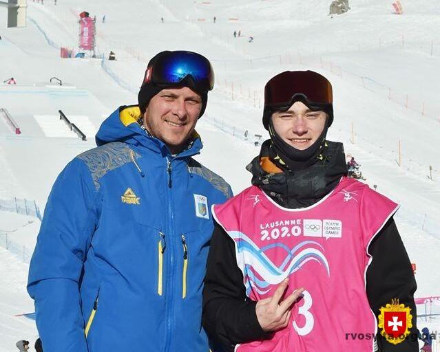 Студент з Рівного виборов бронзову медаль на ІІІ зимових юнацьких Олімпійських іграх