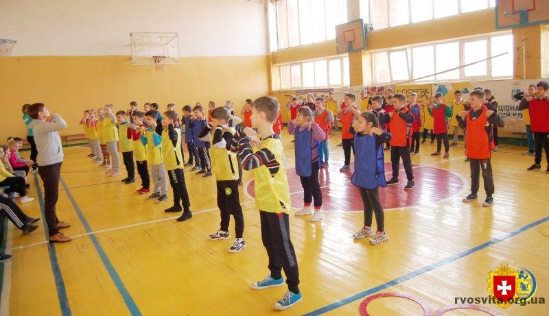 У Квасилові по-спортивному відзначили переможців конкурсу «Олімпійський куточок»