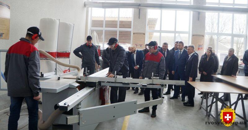На Рівненщині відкрили вісімнадцятий навчально-практичний центр