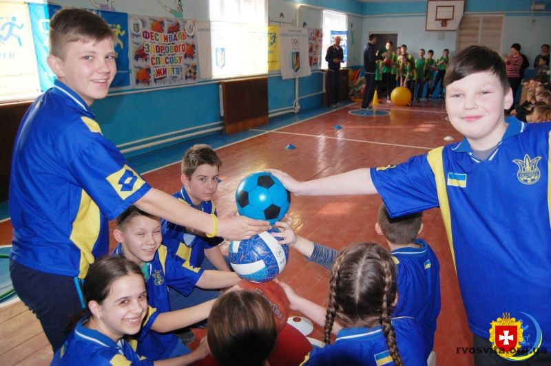 Владиславівську школу нагородили за І місце у конкурсі «Олімпійський куточок»
