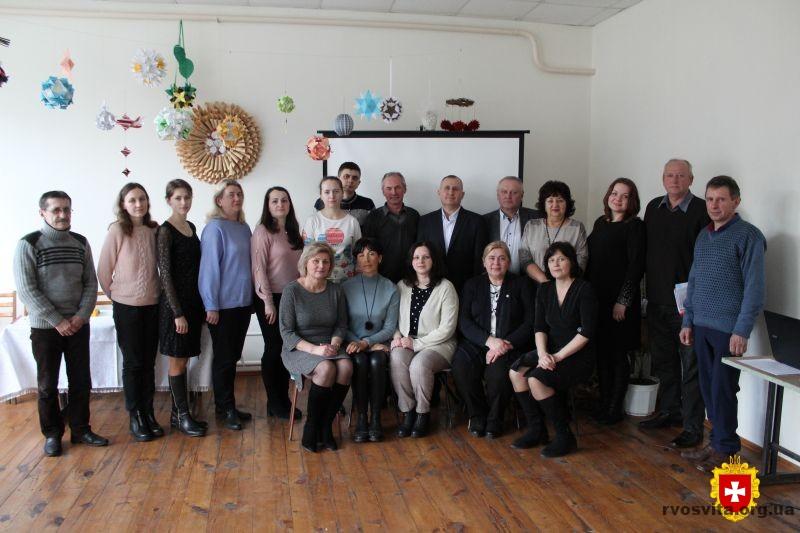 Для керівників творчих об'єднань з початкового технічного моделювання провели семінар
