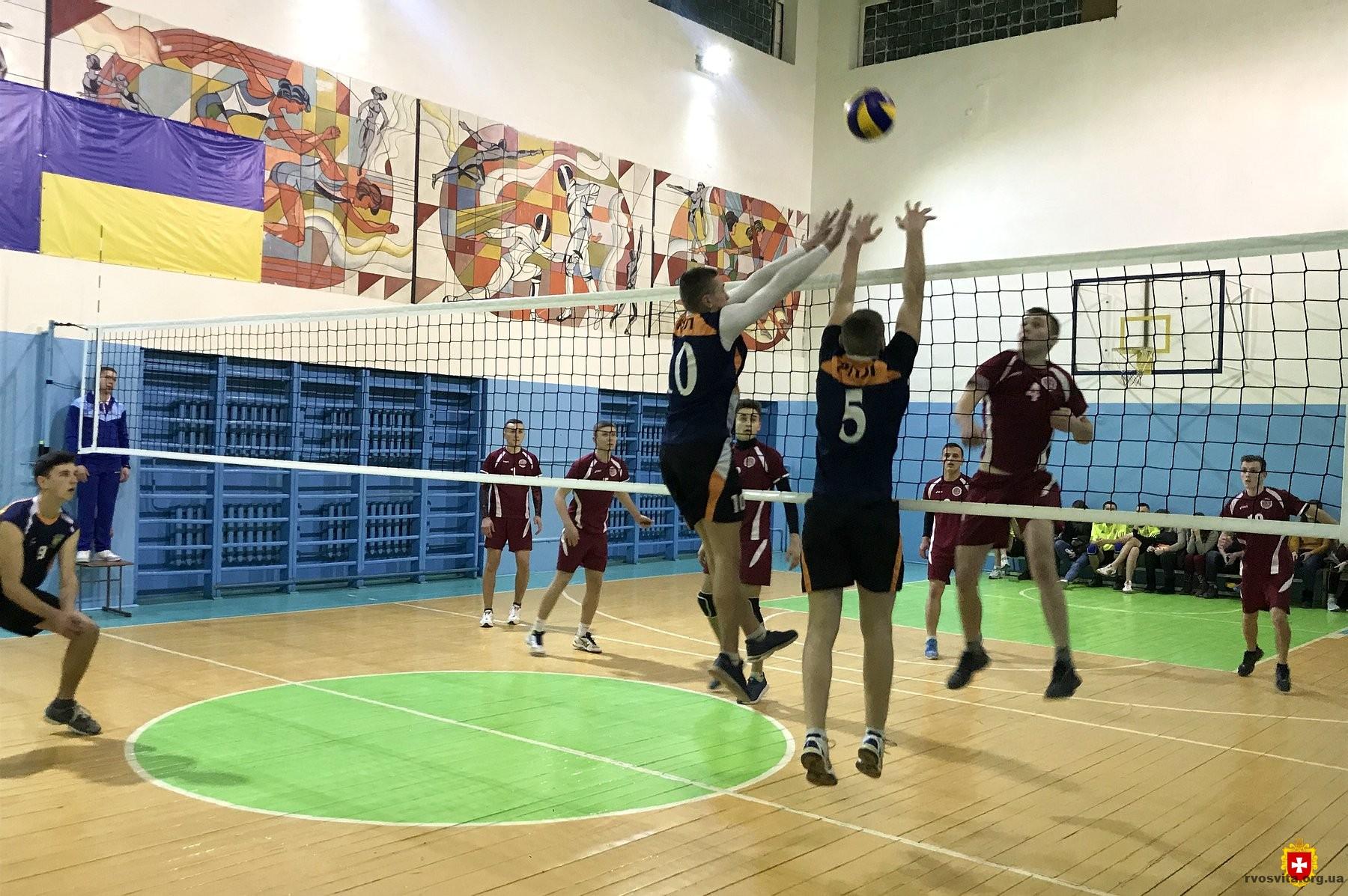 Визначено переможців Спартакіади з волейболу серед закладів професійно-технічної освіти області