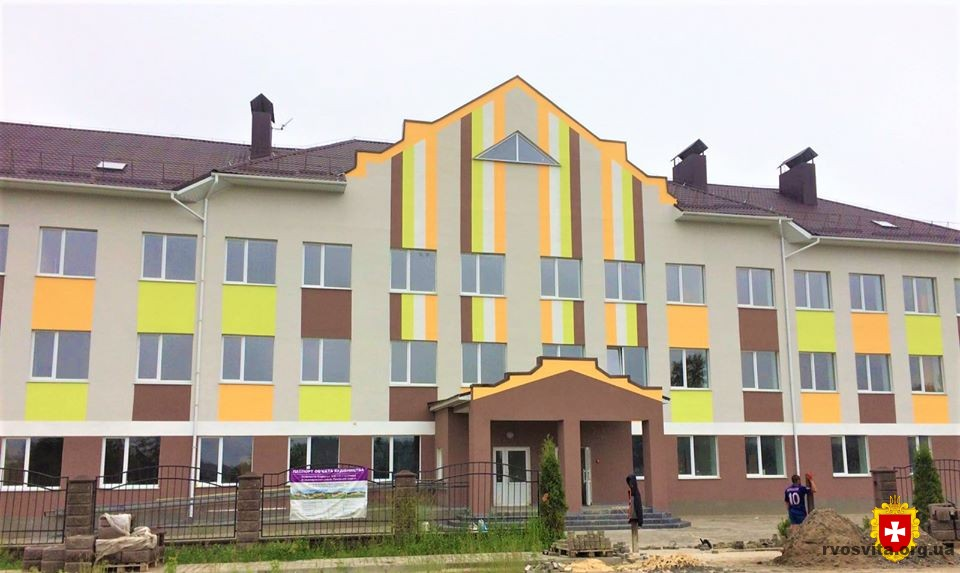 На Володимиреччині триває будівництво школи