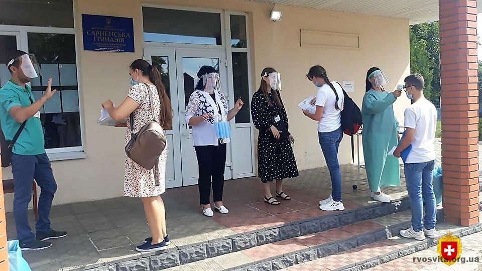 Майже п'ять тисяч мешканців Рівненщини взяло участь  у ЗНО з математики