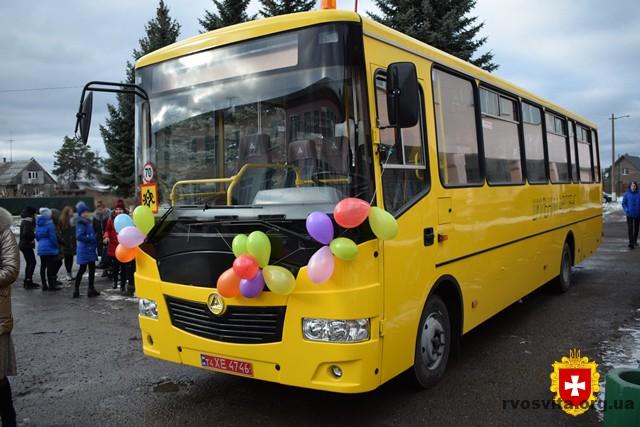 Цьогоріч для шкіл Рівненщини планують придбати 18 автобусів