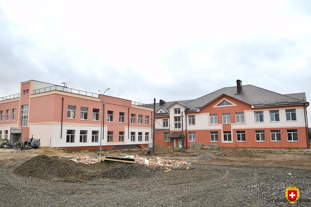 Як триває «Велике будівництво» Корнинського ліцею (ВІДЕО)