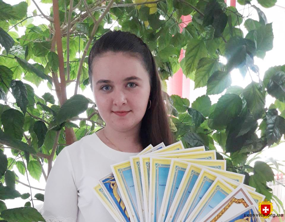 Учениця з Рівненщини отримуватиме стипендію Кабінету Міністрів України
