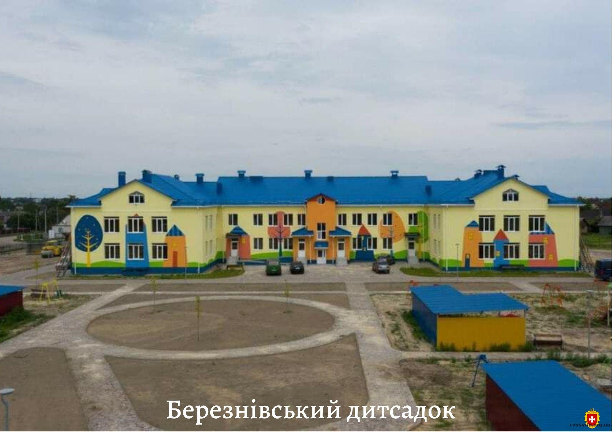 «Велике будівництво»: більше тисячі дітей Рівненщини 1 вересня підуть у нові школи та дитсадки