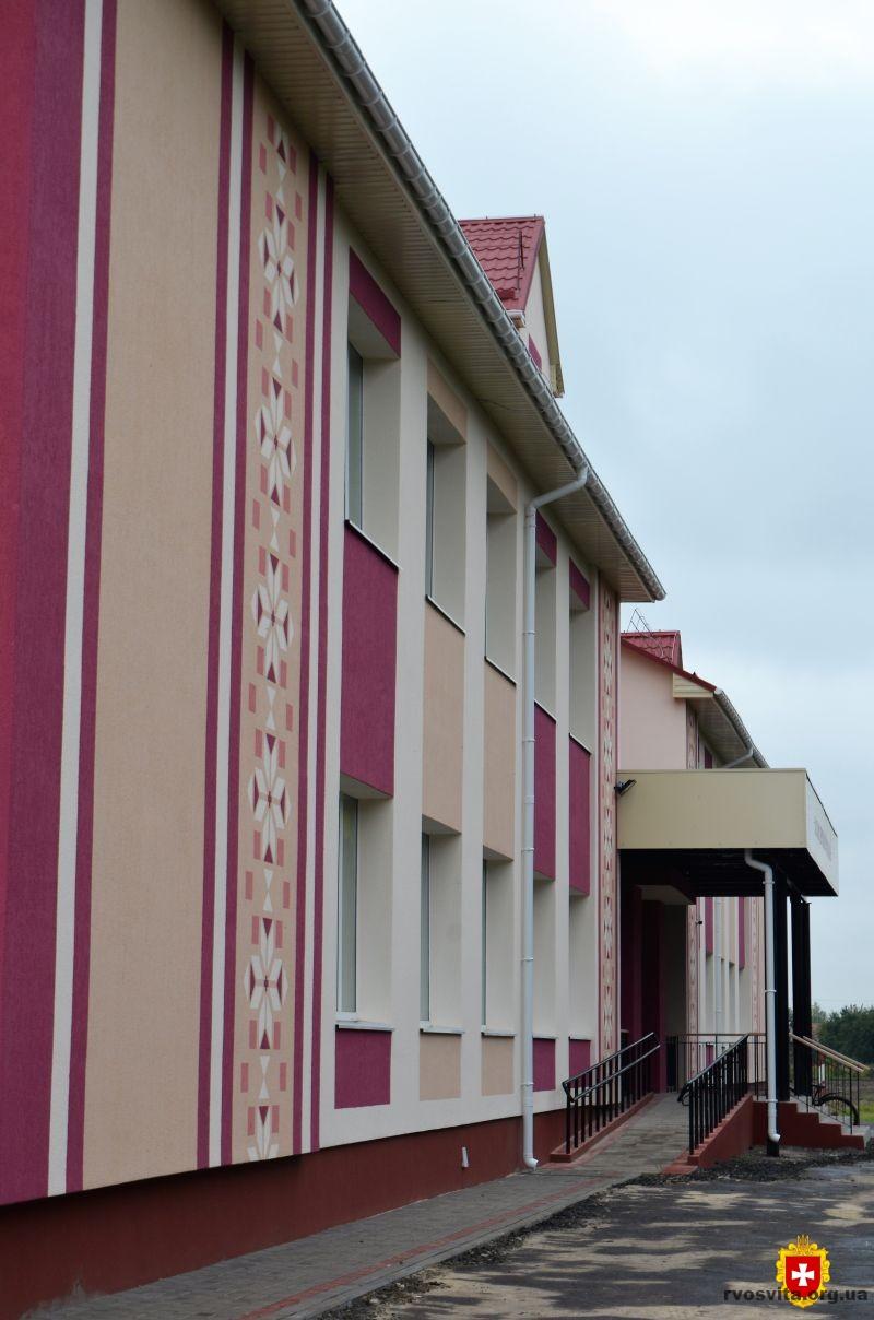 «Велике будівництво»: на Демидівщині відкрили оновлену опорну школу
