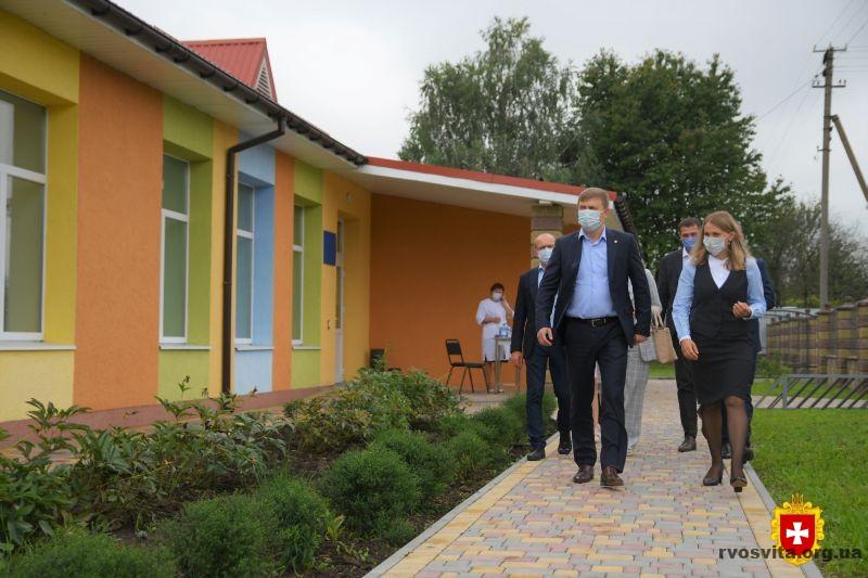 Віталій Коваль відвідав «Казку» на Млинівщині