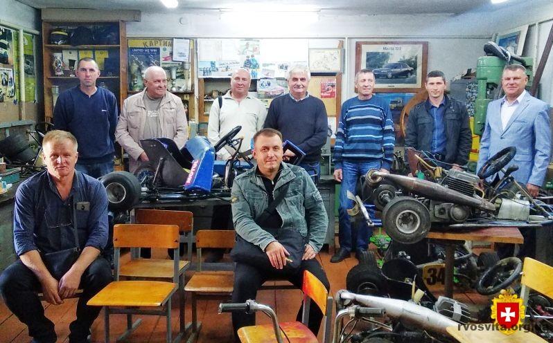 Керівники творчих об'єднань «Картинг» і «Мопедисти та мотоциклісти» ділились досвідом у Рівному