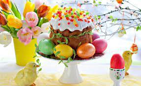 Вітаємо зі світлим святом Воскресіння Христового!