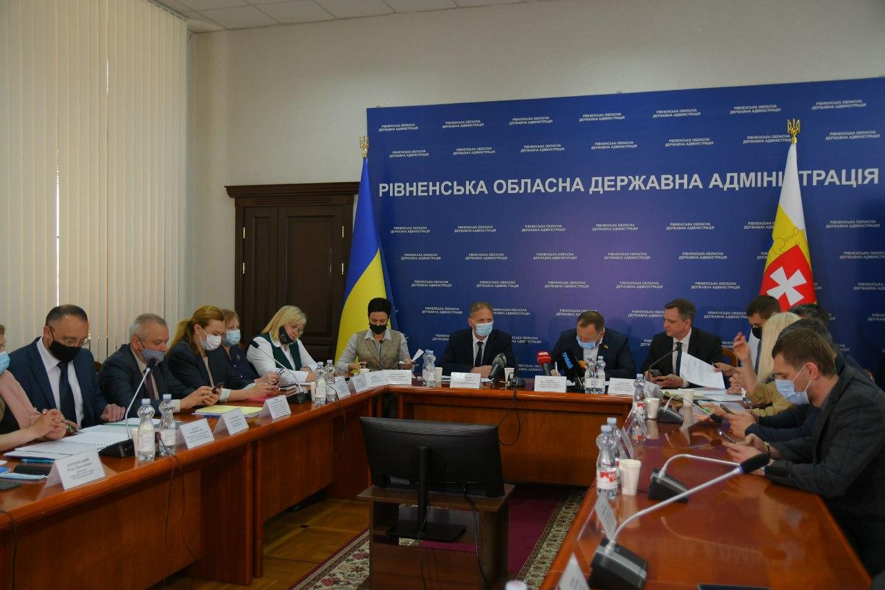На Рівненщині обговорювали роботу спеціальних закладів освіти і санаторних шкіл