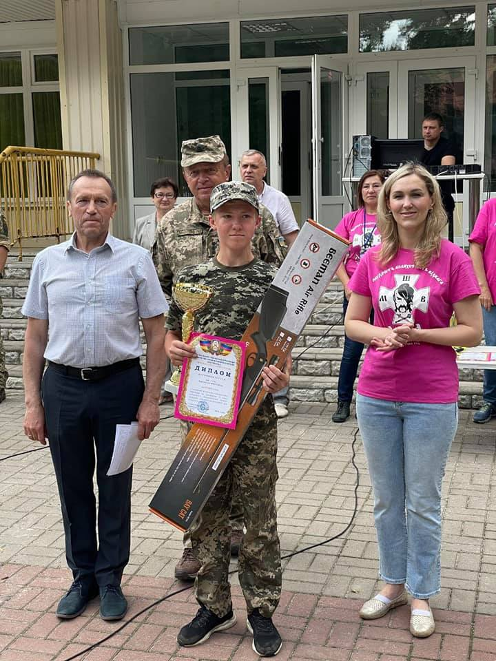 З перемогою і бойовим духом завершилася військово-патріотична гра «Сокіл» («Джура»)