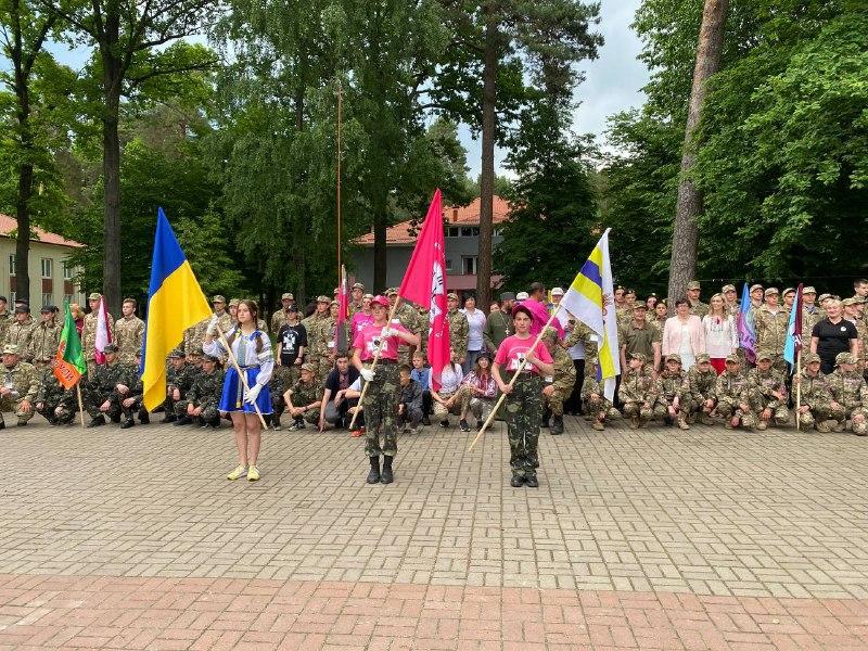 """Відбулося урочисте відкриття Всеукраїнської військово-патріотичної гри """"Сокіл"""" (""""Джура"""")"""