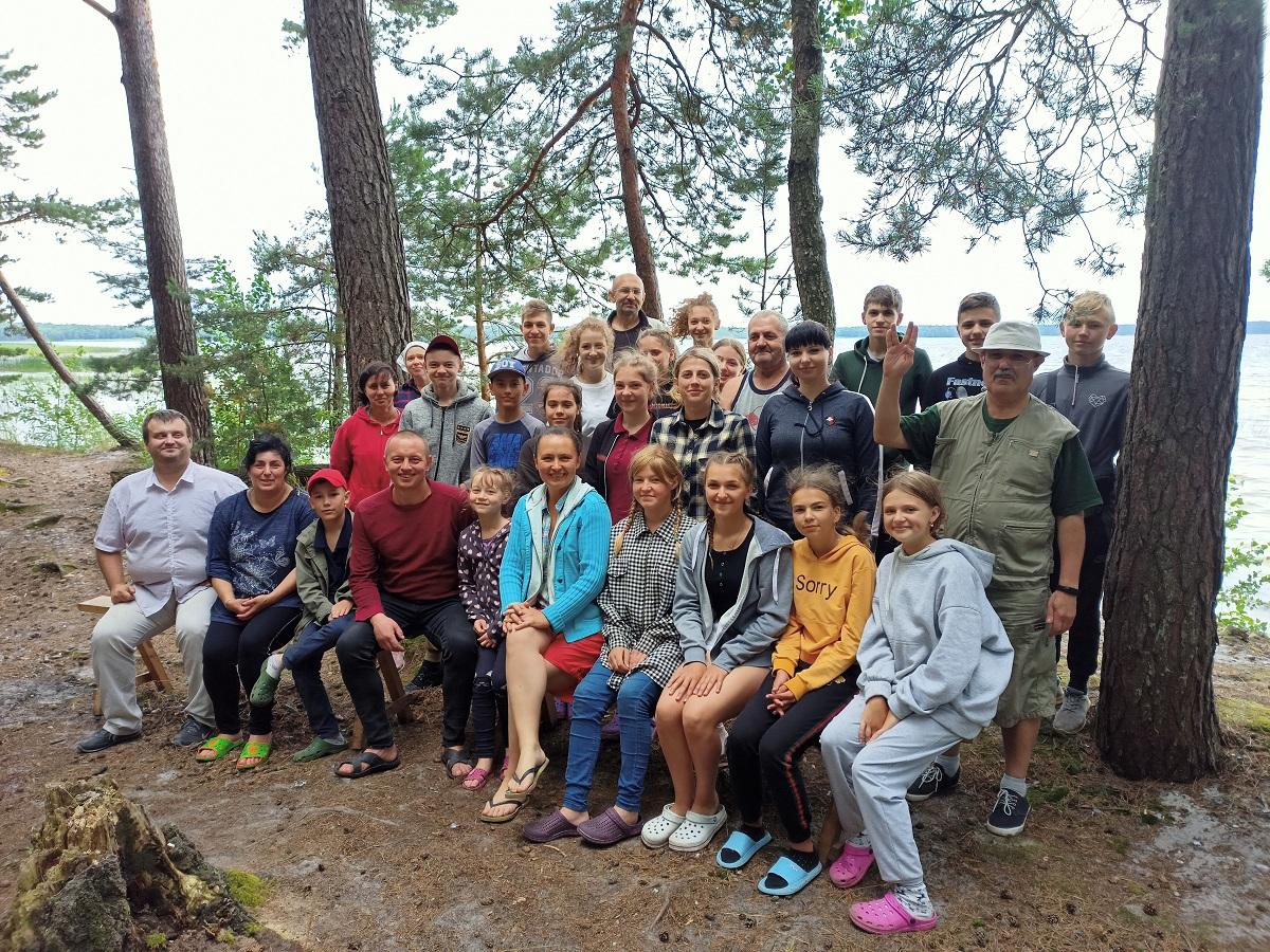 На базі Білого озера відбулася експедиція учнівської молоді «ЮНЕКО»
