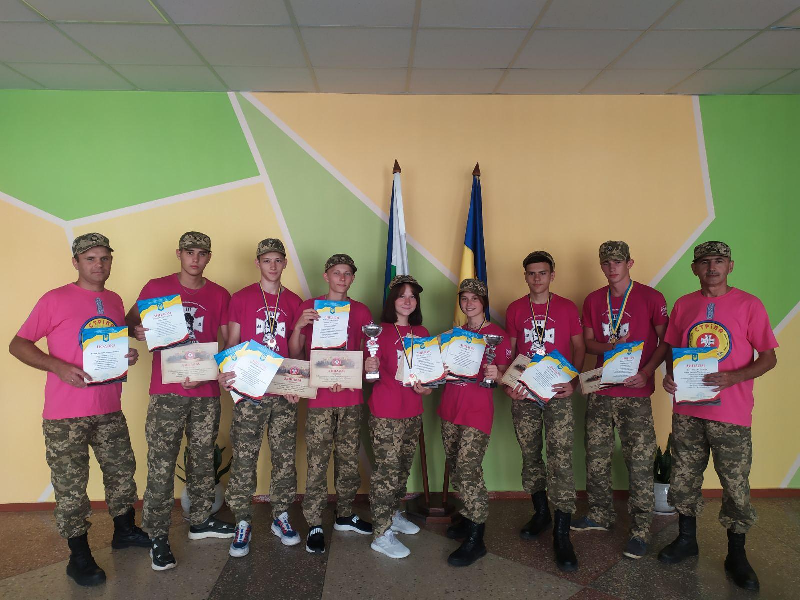 На Буковині визначили переможців Всеукраїнського етапу Гри «Джура»